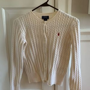 Polo by Ralph Lauren white sweater